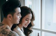 Ưng Hoàng Phúc cởi trần chụp ảnh cưới với Kim Cương