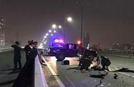 Chạy vào làn ô tô trên cầu Sài Gòn, nam thanh niên chết thảm: Công an truy tìm xế hộp