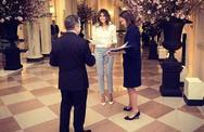 Đệ nhất phu nhân Melania Trump chuẩn bị quốc yến đầu tiên