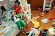 """Gọi nhà như cái chuồng, Ốc Thanh Vân được các mẹ đồng cảm sâu sắc khi lộ """"bãi chiến trường"""""""