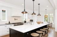 Muốn nhà bếp vừa đẹp vừa sang thì chọn ngay chất liệu đá cẩm thạch