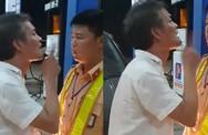 Tài xế đi xe biển xanh say xỉn, tát vào mặt CSGT khi bị nhắc nhở