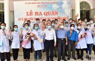 """Thừa Thiên – Huế: 40 """"chiến sỹ áo trắng"""" lên đường chi viện Đà Nẵng"""