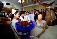 Rơi nước mắt đám cưới của cô gái trẻ mắc ung thư vú giai đoạn cuối