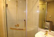 Nội thất phòng tắm mạ vàng của ông chủ tuổi Mùi ở Hà Nội