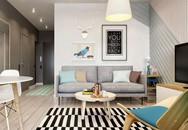 Căn hộ 40 m2 phù hợp với vợ chồng trẻ