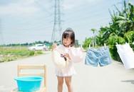 'Mở mang đầu óc' với cách dạy con của cô gái Nhật