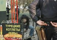 Một người đàn ông Ukraine bẻ cổ tự tử giữa đường phố