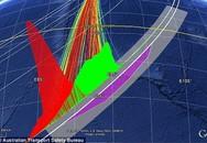 Sự thay đổi hình dạng những đám mây có thể chỉ ra vị trí MH370