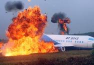 Lại cháy máy bay kinh hoàng