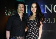 Vợ chồng Dustin Nguyễn  BB Phạm tình tứ đi xem phim