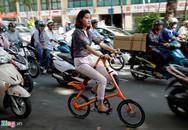 Xe đạp gấp dáng lạ giá nghìn đô ở Sài Gòn