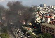 Hà Nội: Cháy dữ dội bên trường tiểu học Tô Hoàng