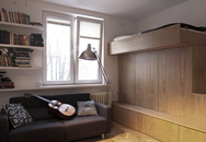 Sống thoải mái trong căn hộ 20m² nhờ bài trí và nội thất thông minh
