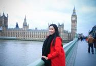 Nguyễn Thị Loan rạng rỡ ở Anh sau thành tích ở Hoa hậu thế giới