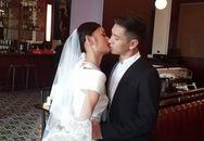 Lê Thúy khoe ảnh cưới cùng người yêu Việt kiều