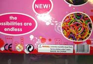 Đồ chơi dây chun Trung Quốc cho bé gái gây ung thư vú