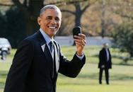 Phản ứng của tổng thống Obama khi quên điện thoại BlackBerry