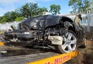 Thượng úy CSGT đâm xe vào tổ công tác, 2 người chết