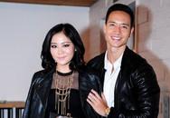 Kim Lý - Văn Mai Hương hợp gu đi xem show thời trang