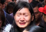 """Bạn gái DJ trẻ tử nạn trong vụ """"xe điên"""" ở Hà Nội khóc ngất trong đám tang"""