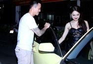 Hương Giang Idol được bạn trai đưa đón tận tình