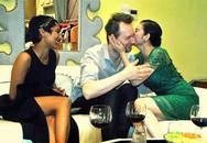 Lý Nhã Kỳ ôm hôn thắm thiết NTK nổi tiếng nước ngoài
