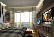 Trang trí nội thất căn hộ chung cư Mỹ Đình Plaza