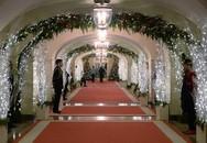 Cận cảnh Nhà Trắng trang trí lộng lẫy mừng Giáng sinh