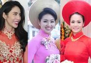 Lễ rước dâu hoành tráng của 3 cô dâu sao Việt cùng cưới ngày 27/12