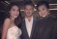 Hồ Ngọc Hà, Thanh Hằng khoe vẻ rạng ngời bên David Beckham