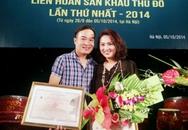 Vợ trẻ của NSND Lê Hùng đoạt Huy chương Vàng Liên hoan sân khấu Thủ đô
