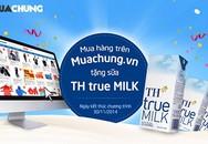 Muachung.vn tặng sữa cho tất cả khách mua hàng