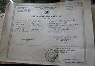 Vụ chàng rể lừa mẹ vợ 3 tỷ: Lộ giấy kết hôn không có chữ ký
