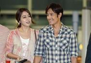 Hậu scandal lăng nhăng, Lee Byung Hun đưa vợ sang Mỹ nghỉ dưỡng