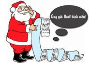 """Ngộ nghĩnh thư bé gợi ý ông già Noel mua quà """"dự trù"""""""