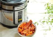 Bữa cơm gia đình phong phú hơn với nồi áp suất