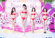 Thí sinh Hoa hậu Việt Nam khoe dáng ngọc với bikini