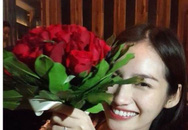Hoa hậu Trúc Diễm khéo léo khoe nhẫn cầu hôn của bạn trai Việt kiều