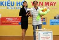 Sacombank trao giải thưởng đến 140 khách hàng