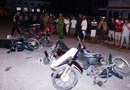 Năm xe máy tông nhau, cấp cứu chú rể - cô dâu