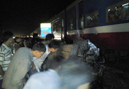 Tàu hỏa Bắc  Nam hất ôtô văng gần 40m, tài xế thiệt mạng