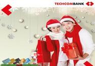 """Cùng Techcombank  """"Mở thẻ nhận quà, mua sắm nhận lộc"""""""