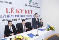Lễ ký kết Hợp đồng phát hành thẻ tiêu dùng V-SMART