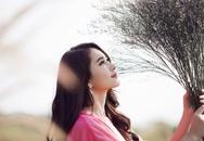 Ngắm Hoa hậu Thu Thảo đẹp tinh khôi trong thiết kế hoa