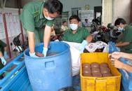 Bắt quả tang chế biến tiết bẩn bán ra chợ