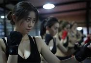 Cận cảnh bên trong lò luyện vệ sĩ xinh đẹp ở Trung Quốc