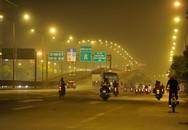 Hà Nội nhuốm đặc khói mù trong đêm tối