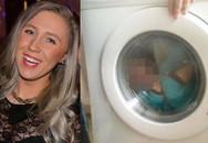 Mẹ nhốt con trong máy giặt rồi khoe ảnh lên Facebook bị lên án gay gắt