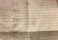 Bức thư tình cực dễ thương của bé gái 11 tuổi
